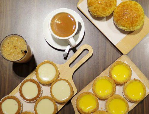 Honolulu Cafe | Hong Kong's Famous Egg Tart at Centrepoint Singapore
