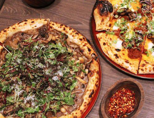 Amò | Not To Miss Mushrooms, Truffle, Mascarpone and Tuscan Pecorino Pizza!