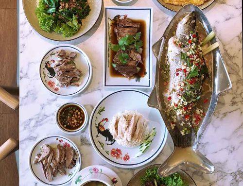 Go-Ang Pratunam Chicken Rice | Thailand's Michelin Award-Winning Chicken Rice Now in SINGAPORE