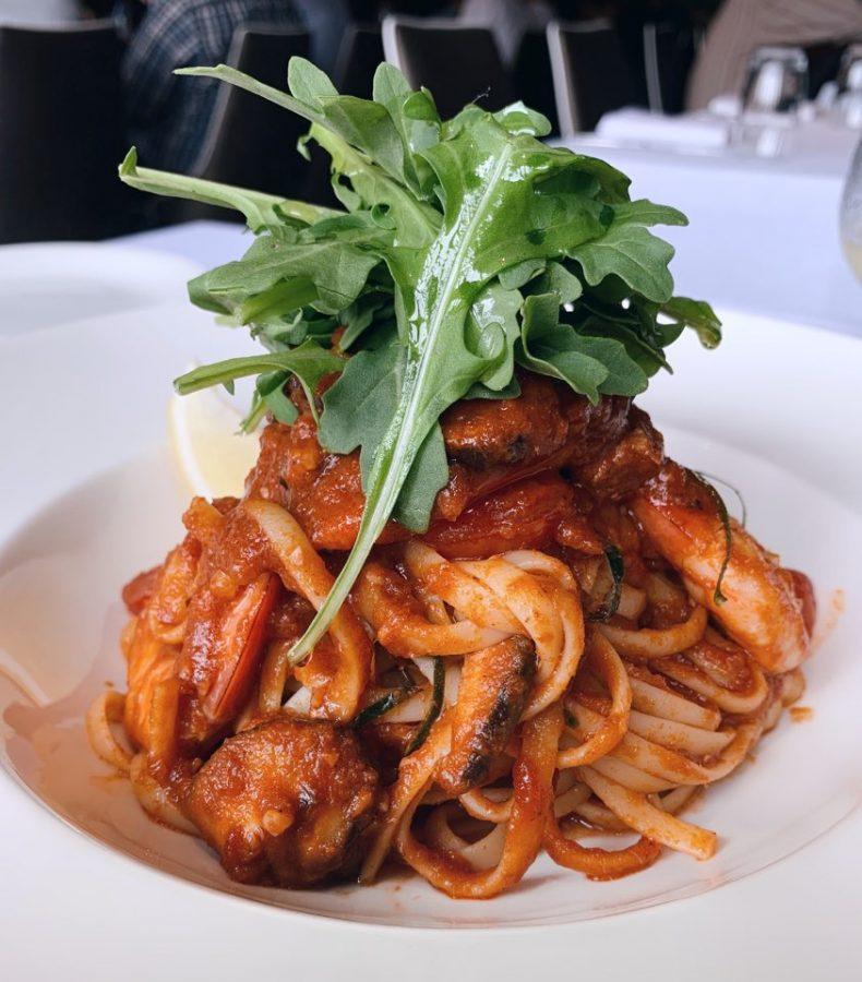 Dallas Restaurant and Bar CNY 2021 tom yum prawn linguine